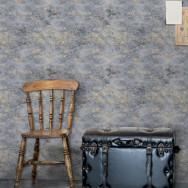 Mind The Gap Rust Texture Wallpaper