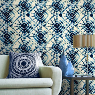Mind The Gap Shibori Swirls Wallpaper