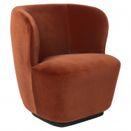 Gubi Stay Lounge Chair 75 Swivel Base