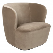 Gubi Stay Lounge Chair 85 Fixed Base