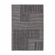 Tom Dixon Rectangular Stripe Rug - Black / White