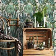 Mind The Gap Succulentus Wallpaper