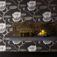 Cole and Son Summer Lily Wallpaper - Contemporary