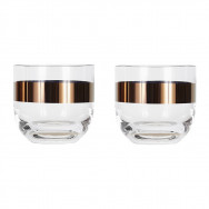 Tom Dixon Tank Whiskey Glasses (set of two) - Copper