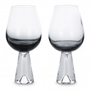 Tom Dixon Tank Wine Glasses x2 - Black