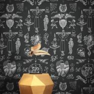 Feathr Tattoo Flash 01 Wallpaper by Liam Sparkes