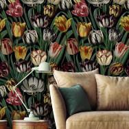 Mind The Gap Tulipa Wallpaper