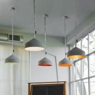 In-es.artdesign Cyrcus Cemento Pendant Light