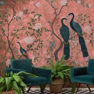 beut x Coordonne Core Edo Mural Wallpaper - Dusky Pink