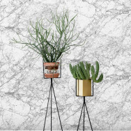 Ferm Living Marble Wallpaper - Grey
