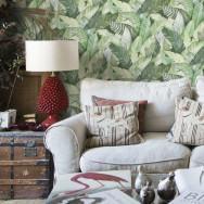 Coordonne Banana Leaves Wallpaper Wallpaper