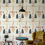 Mind The Gap The Great Show Vintage Wallpaper