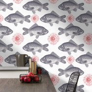 Mind The Gap Fish Wallpaper