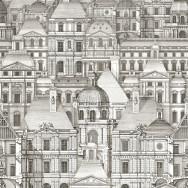 Mind The Gap Louvre Wallpaper