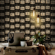 Mind The Gap Periodic Table of Elements Wallpaper