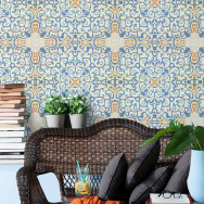 Mind The Gap Spanish Tile Wallpaper