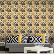 Mind The Gap Maghreb Tile Wallpaper