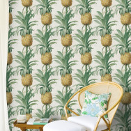 Mind The Gap Ananas Pineapple Wallpaper