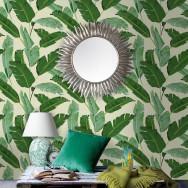 Mind The Gap Banana Leaves Wallpaper