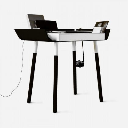 EMKO My Writing Desk Single Drawer Black