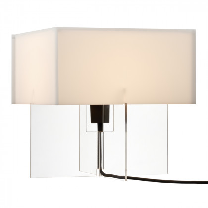 Fritz Hansen Cross-Plex T-300 Table Lamp - Opal/Clear