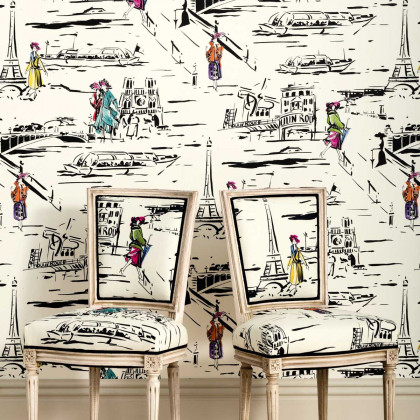Manuel Canovas The Parisian Wallpaper