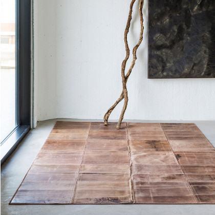Massimo Rugs Leather Rug - Light Brown