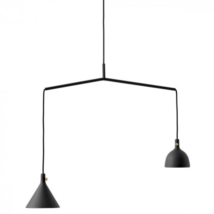 Menu Cast Pendants - Black