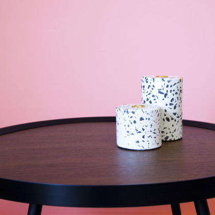 Terrazzo Candle Holder - Large