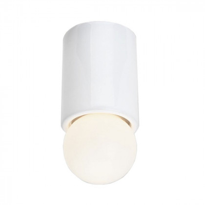 Michael Anastassiades White Porcelain O1 Ceiling / Wall Light