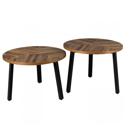Dutchbone Set of Two Mundu Coffee Tables