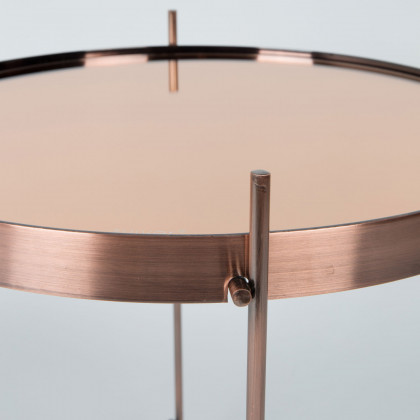 Zuiver Small Cupid Side Table-Copper