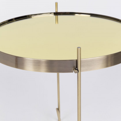 Zuiver Small Cupid Side Table-Gold