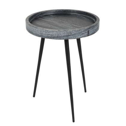 Zuiver Karrara Marble Side Table - Grey