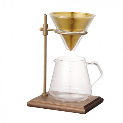 Kinto SCS-S02 Brewer Stand Set 4 Cups