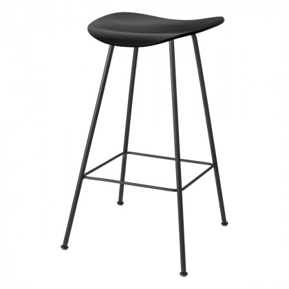 Gubi 2D Counter Stool - Un-Upholstered, 65, Center Base