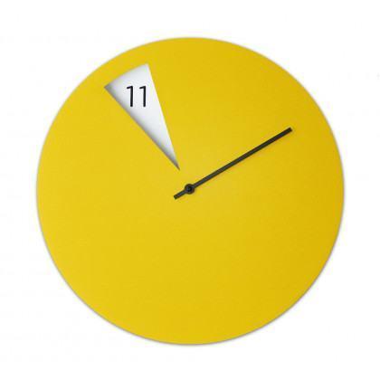 Sabrina Fossi Freakish Clock - Yellow