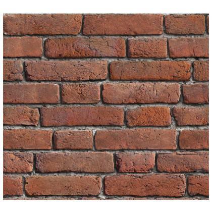 Sunset Red Brick Wallpaper