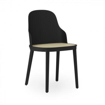Normann Copenhagen Allez Chair With Wicker Seat