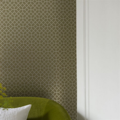 Designers Guild Pisani Copper Wallpaper