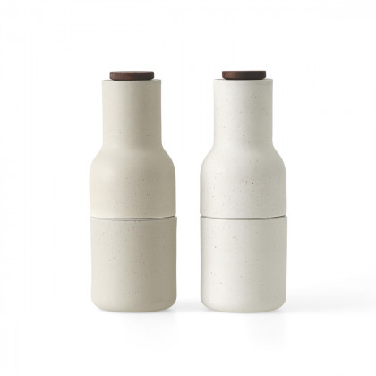 Menu Bottle Grinder, Ceramic - Pair