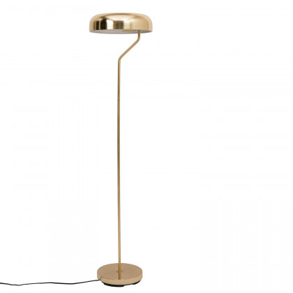 Dutchbone Brass Eclipse Floor Lamp