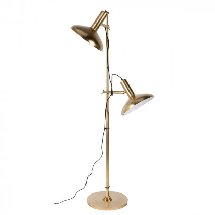 Dutchbone Brass Karish Floor Lamp