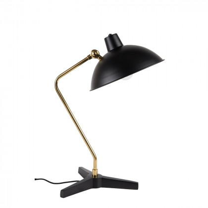 Dutchbone Devi Desk Lamp - Black / Brass