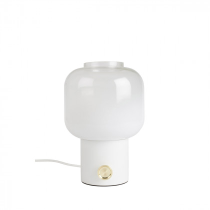 Zuiver Moody Ombre Glass Table Lamp - White