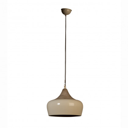 Dutchbone Coco Metal / Mango Wood Pendant Light