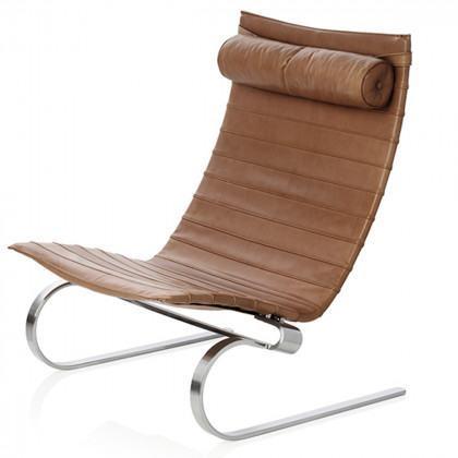 Fritz Hansen Pk20 Easy Chair, Leather