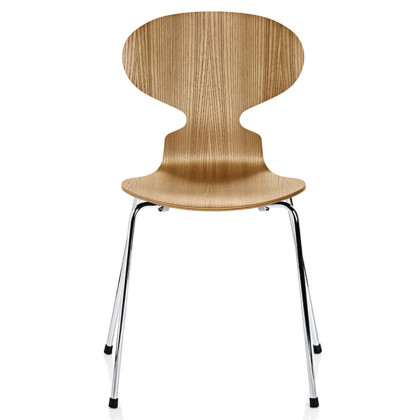 Fritz Hansen The Ant Chair 4 Legs, Clear Lacquer