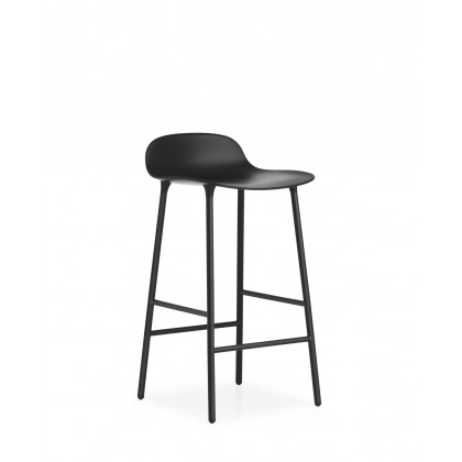 Normann Copenhagen Form Bar Stool - Steel