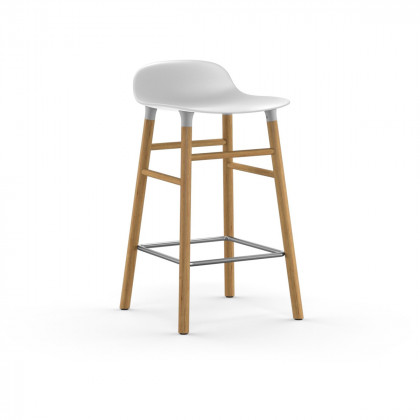 Normann Copenhagen Form Bar Stool - Wood